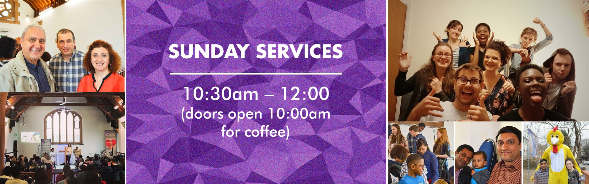Sunday Services/Plan A Visit